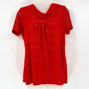 WHITE STAG Shimmer Top C01